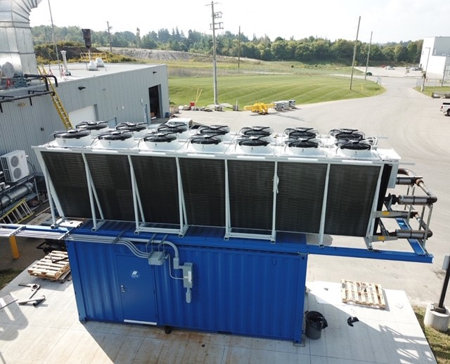 ANOTHER SUCCESSFUL IMPLEMENTATION OF CETY'S WASTE HEAT GENERATOR